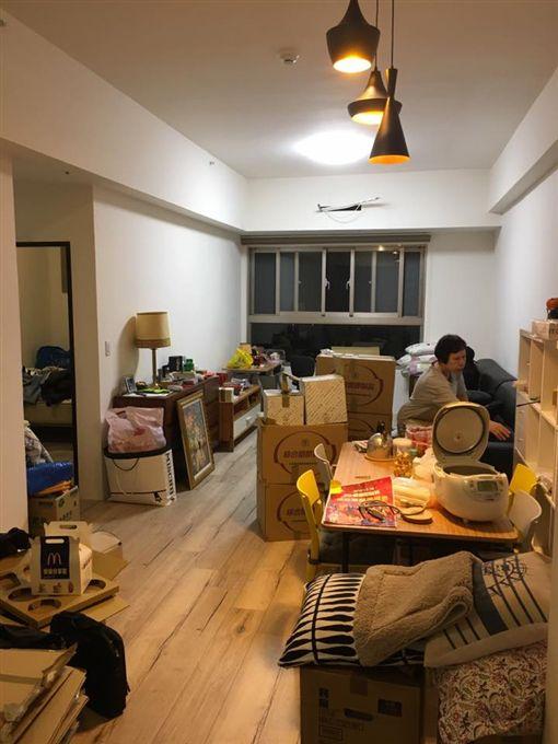 自認單親買不起房 曾子余幸運抽中合宜住宅。資料來源:曾子余臉書