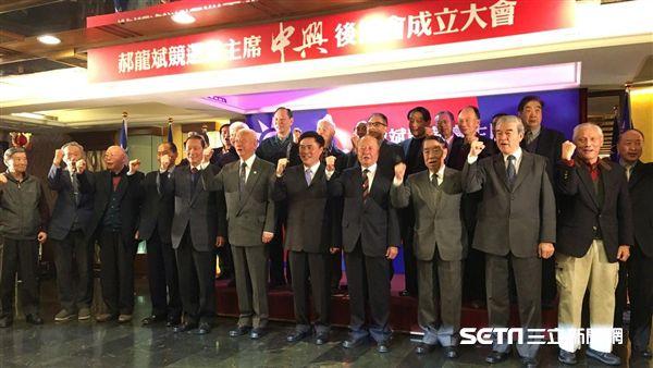 郝龍斌,中興後援會,國民黨,黨主席,將軍圖/記者陳彥宇攝影