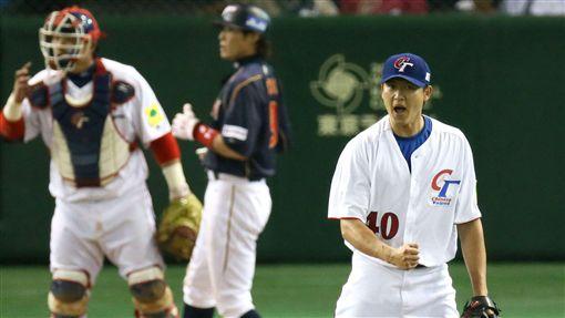 ▲2013年經典賽,王建民在東京巨蛋三振日本打者。(圖/美聯社/達志影像)