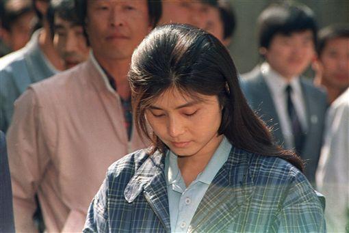 北韓女特務金賢姬(圖/美聯社/達志影像)
