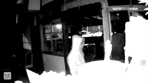 3賊摸黑爬窗 潛入鬼屋咖啡廳行竊