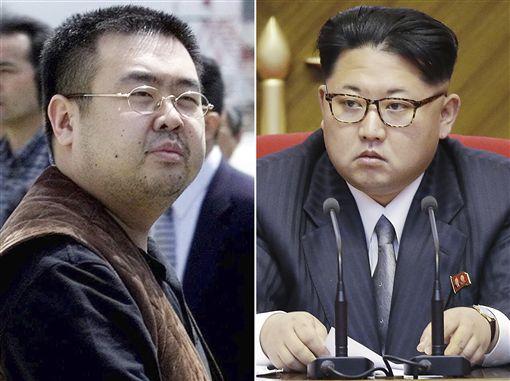 北韓領導人金正恩同父異母的哥哥金正男遭暗殺_圖/美聯社/達志影像
