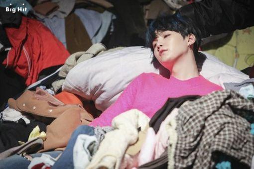 圖翻攝自韓網 BTS
