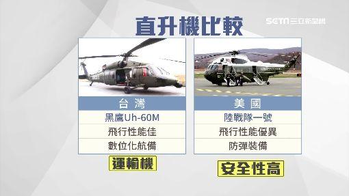 """元首搭直升機 美3機出動""""欺敵戰術"""""""