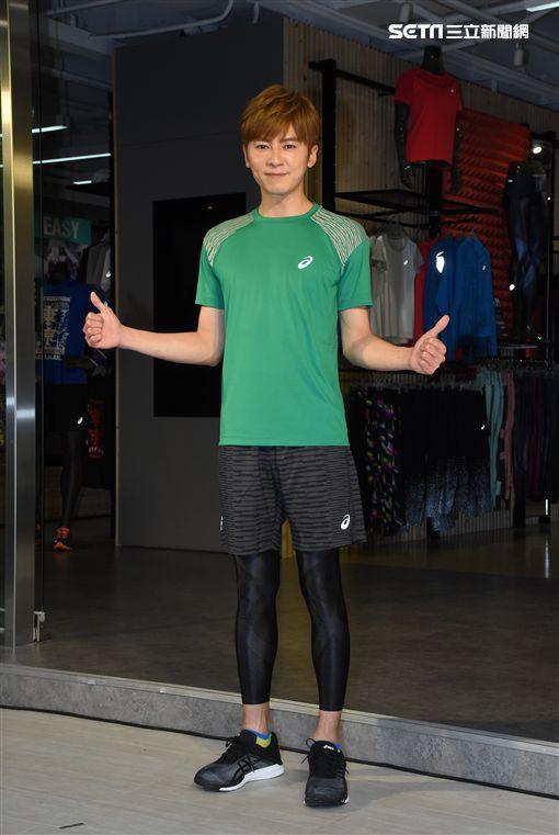 李國毅出席運動品牌旗艦店分享運動經驗