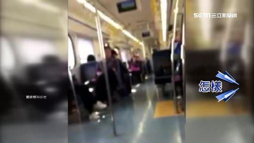 疑音樂大太聲遭制止!火車挑釁爆全武行
