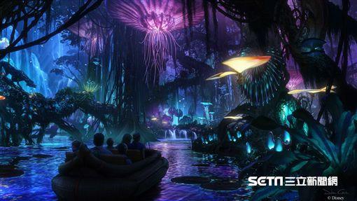 奧蘭多迪士尼,阿凡達世界,遊樂設施,Avatar, Disney。(圖/迪士尼提供)