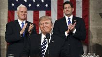 美國,總統,川普,Donald Trump,國會演說 圖/美聯社/達志影像
