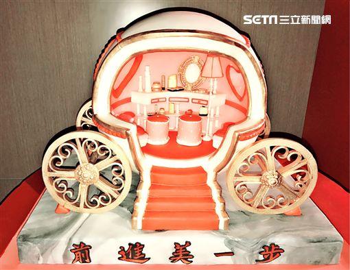 蔡依林,翻糖蛋糕(圖/記者黃馨慧攝影)