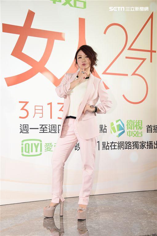 """陶晶瑩新節目""""女人234""""將登場,女人心想什麼犀利開講"""
