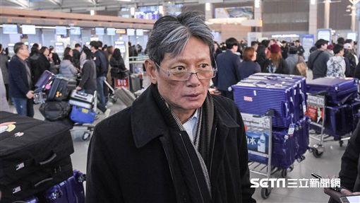 中華隊搭機返台,WBC世界棒球經典賽,郭泰源 圖/記者林敬旻攝