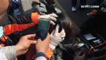 三立記者在南韓首爾遭朴槿惠支持者攻擊濺血