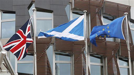 英國、脫歐、蘇格蘭、歐盟(圖/路透社/達志影像)