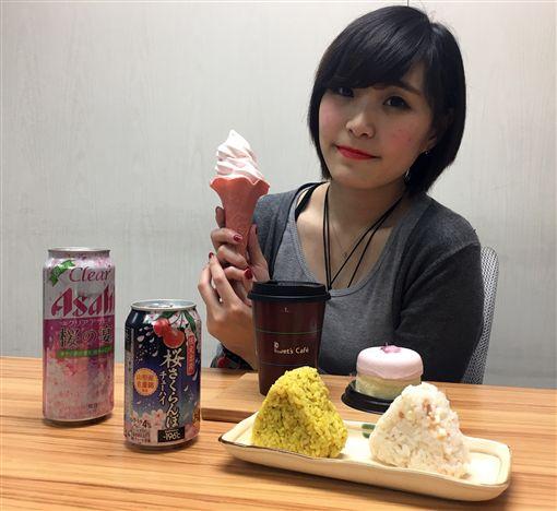 「食」尚賞櫻!全家推櫻花系商品、必勝客櫻花比薩
