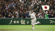 ▲筒香嘉智開轟,日本隊連續4屆闖進WBC 4強。(圖/美聯社/達志影像)