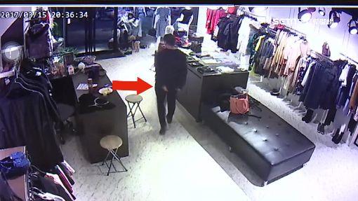 女賊鎖定一人顧店 假買禮物真偷錢