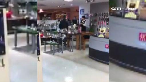 疑鍋具維修不成 男百貨公司怒飆櫃姐