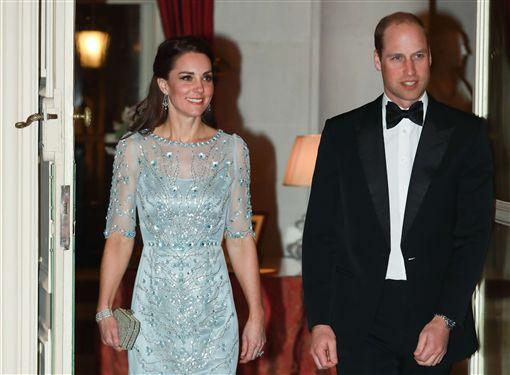 威廉王子,凱特王妃,英國,皇室,法國訪圖/美聯社/達志影像