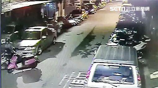 王男竊取鄰居的安全帽給女友戴,事後遭警方通知到案才苦苦求情,仍被警方依竊盜罪函送法辦(翻攝畫面)