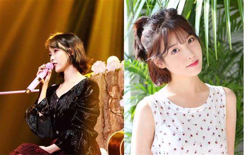 南韓女歌手IU。(合成圖/翻攝自IU官方臉書)