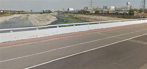 筏子溪橋圖翻攝自GOOGLE MAP