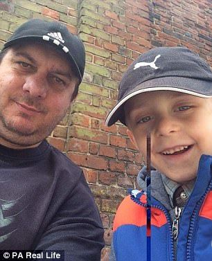 Filip Kwasny,癌症,心願,英國,埋葬,天使圖/翻攝自《Daily Mail》