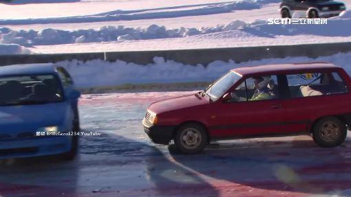 「戰鬥冰壺」就是狂!驚變冰上撞車大賽