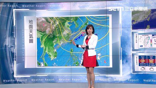 氣象,天氣,陣雨,溫度,強陣風,颱風,PM2.5,空氣品質,冷氣團,寒流,鋒面
