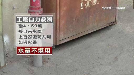 """扯! 2百家工廠林立 市府竟無裝設""""消防栓"""""""