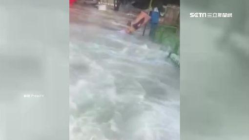 3米巨浪撲伊朗海港 1死18傷4失蹤
