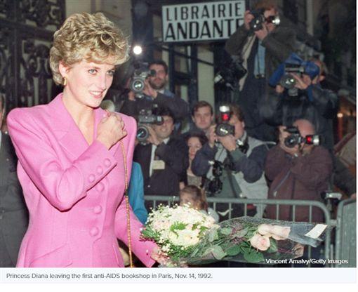 黛安娜王妃http://abcnews.go.com/Entertainment/prince-william-princess-kate-visit-paris-city-forever/story?id=46096043