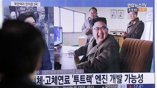 北韓,金正恩(圖/美聯社/達志影像)