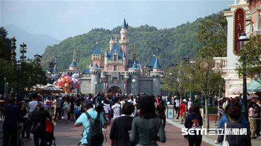 香港迪士尼,城堡,遊樂園,旅遊。(圖/記者簡佑庭攝)