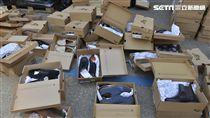 愛的漣漪!一通電話募集一貨櫃鞋衣送敘利亞難民(圖/慈濟基金會)