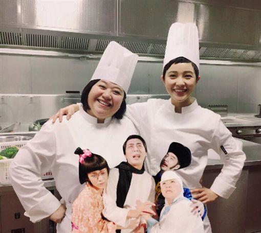 圖翻攝自《無敵珊寶妹》官網 郭采潔臉書 鍾欣凌