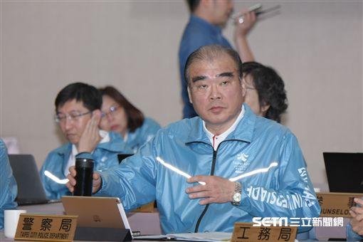 台北市警察局長邱豐光 圖/記者林敬旻攝