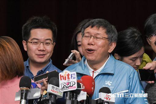 台北市長柯文哲主持士林區行動市政會議 圖/記者林敬旻攝