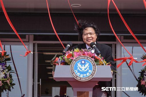 內政部警政署反恐訓練中心揭牌典禮,內政部長葉俊榮 圖/記者林敬旻攝