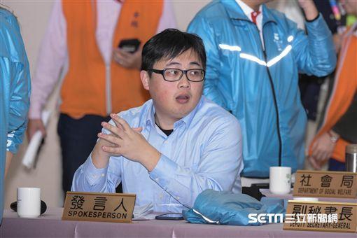 台北市政府發言人劉奕霆 圖/記者林敬旻攝