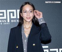 張鈞甯在大陸忙拍戲,特別回台出席眼鏡活動。(記者邱榮吉/攝影)