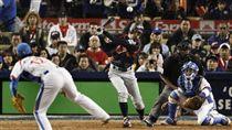 ▲2009年世界棒球經典賽決賽的林昌勇對決鈴木一朗,堪稱經典之作。(資料照/美聯社/達志影像)
