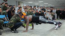 館長兩棲偵搜大隊演講 「沒有痛苦沒有收穫」被讚爆 圖/翻攝自中華民國海軍陸戰隊