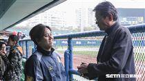 兄弟象投手陳鴻文,郭泰源 圖/記者林敬旻攝