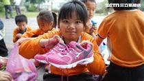 搭乘聖心基金會幸福列車 義大利國寶品牌為偏鄉學童送新鞋