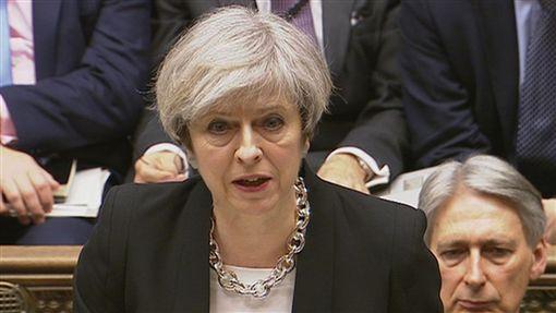 Theresa May,梅伊,英國,首相,恐攻圖/路透社/達志影像