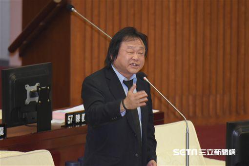台北市議會,柯文哲施政報告,王世堅 圖/記者林敬旻攝