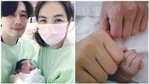 Ella,陳嘉樺,賴斯翔,賴解孵,生產,勁寶,陣痛,分娩/臉書