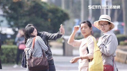 陸客,觀光,旅遊,自由行,旅行團,中國客 圖/記者林敬旻攝