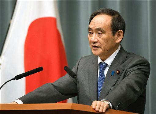 日本政府發言人、內閣官房長官菅義偉圖/路透社/達志影像