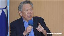 國民黨黨主席政見發表會,詹啟賢 圖/記者林敬旻攝